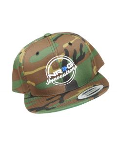 Camouflage Hat w/White Letters