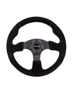 Race Style Steering Wheel - Suede